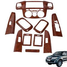 For 2005-2008 Toyota Hilux Vigo SR5 MK6 Center Console Wood Panel Cover Trim