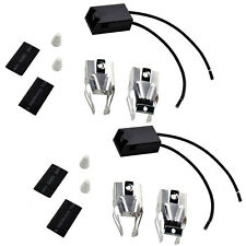 2-Pack HQRP Range Top Burner Receptacle Kit for Maytag 326800 330031 Replacement