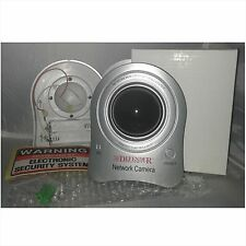 Dummy IP Security Camera-Flashing Light in Dome-Wall Screws & Free Sticker-CCTV