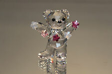 SWAROVSKI CRYSTAL KRIS BEAR FLOWERS FOR YOU 2012 MINT 1016620 9400 NR 000 251
