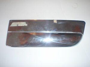 NOS Passenger's Side Rear Quarter Panel CHROME Moulding 49 50 Kaiser K492 Deluxe
