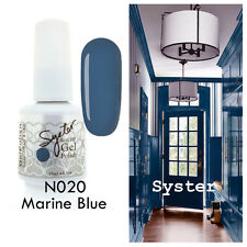 SYSTER 15ml Nail Art Soak Off Color UV Lamp Gel Polish N020 - Marine Blue