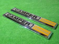 NEW 1970 1971 1972 Ford F100 F250 F350 Camper Special Cowl Emblem Pair L@@K