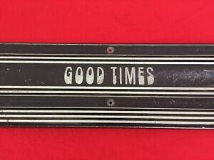"RARE CLASSIC CHEVY G20 VAN ""GOOD TIMES"" SIDE DOOR SILL SCUFF KICK PLATE VANLIFE"