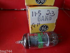 6AK6 GE  GREEN  PRINT   NEW OLD STOCK VALVE TUBE 1PC  S15