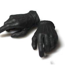 """Custom 1/6th The Joker Black Gloves Hand Model 2.0 Fit F 12"""" Male Action Figures"""