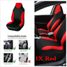 1xDurable Car Seat Cover Protector Cushion Red For Car Auto Interior Accessories