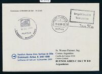 64924) LH A340 FF Frankfurt - Buenos Aires 15.12.2003, cover Taxe percue