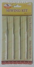 4 Crochet Hooks Needles Steel 1 mm 1.5 mm 2 mm and 2.5 mm All in a Pack - NEW