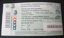 Ticket Republic of Ireland Germany 2012