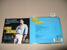 George Coleman  Blues Inside Out (Live Recording, 2002) cd is Ex/Booklet vg