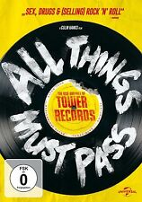 ALL THINGS MUST PASS-THE RISE AND FALL DVD NEU SIR ELTON JOHN/BRUCE SPRINGSTEEN