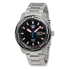 Seiko 5 Sports Automatic Black Dial Mens Watch SRP735
