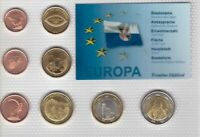 TRENTINO SOUTH TIROL 8 DIF UNC SET 1 CENT - 2 EURO 2014 YEAR PATTERN ESSAI PROVA