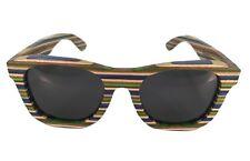 Wooden Sunglasses RAINBOWOOD in Skateboard Wood
