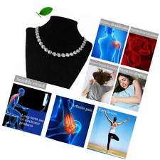 Magnetic Therapy Stainless Steel Necklace Pain Relief Neck Arthritis