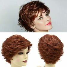 Short Shaggy Layered Wig for Women Premium Kanekalon Synthetic Wavy Blonde Hair
