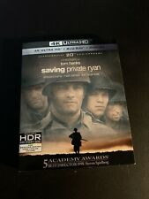 Saving Private Ryan New 4K Uhd Blu-ray BluRay 4K Digital Rare Oop Slipcover