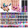LILYCUTE 9D Magnetic Soak Off UV Gel Nail Polish Cat Eye Thermal Nail Art Gel