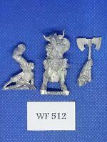 Warhammer Fantasy/Mordheim - Beastmen Warband Champion - Metal WF512