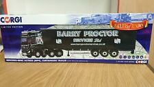 Corgi CC15810 Mercedes Benz Actros Barry Proctor Svces Ltd Edition