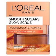 Loreal Paris Smooth Sugar Glow Grapeseed Face and Lip Scrub 50 Ml