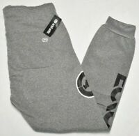 Ecko Unltd Jogger Pants Men's Logo Fleece Sweatpants Grey Urban Streetwear P804