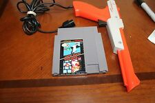*** RED ZAPPER W/SUPER MARIO DUCK HUNT** NES nintendo game games 1