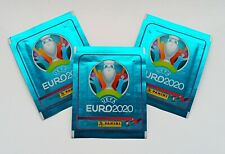 PANINI Euro 2020 NO PREVIEW 3 sealed bag's