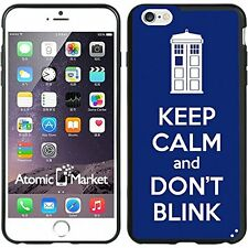 Tardis Keep Calm And Don't Blink For Iphone 6 Plus 5.5 Inch Case Cover