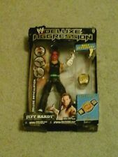 WWE JEFF HARDY BOYZ 2009 FIGURE DELUXE AGGRESSION SERIES 21 WITH BELT BRAND NEW!
