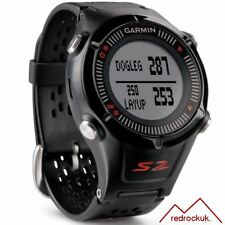 Garmin Approach S2 GPS Golf Watch Rangefinder - Black & Red