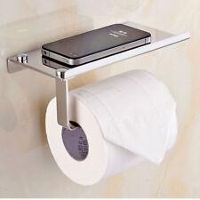 Accessorio bagno in acciaio inox porta carta igienica supporto rotolo cellulare