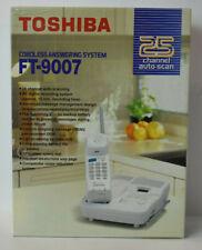 Vintage NOS Toshiba FT-9007 Cordless Phone Telephone Answering System