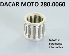280.0060 JAULA DE PERNO 14X18X17 PLATEADO MOTOR POLINI PIAGGIO CREMALLERA 50 SP