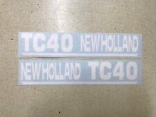 New Holland Tc40 Decals