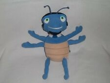 TOMMY NELSON Plush STRINGO Blue Insect Hermie & Friends Blue Stuffed Toy
