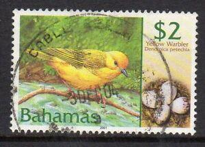 Bahamas 2001 Bird $2 fine used