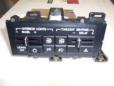 NEW! OEM GM Headlight Control Switch 16067196 87-89 Cadillac Allante W/Fog Lamps