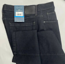 Perry Ellis Jeans Slim Fit Stretch Low Rise Straight Leg Black Men 36 x 32 NWT
