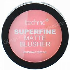 Technic MATTE Blusher Superfine High Pigment 3 Colours in 1 Pink Peach Baby Pink