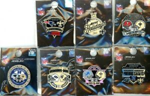 Saints 2017 Game Day Pin Choice 7 pins New Orleans Lions Panthers Patriots Jets