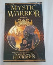 Mystic Warrior by Laura Hickman and Tracy Hickman (2004, Hardcover)
