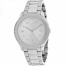 Movado 3600415 Stainless-Steel Swiss-Quartz Women's Watch - Silver