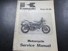 Kawasaki ZX-6R Ninja ZX-6R OEM Shop Service Manual For 1995-96 P/N 99924-1184-01