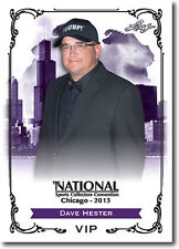 (20) DAVE HESTER - 2013 Leaf National Convention VIP Promo Storage Wars Card LOT