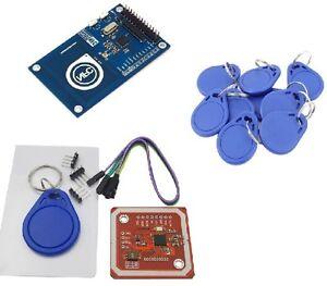 PN532 NFC RFID Reader/Writer Controller Shield KITS For Arduino PN532 Red/Blue U