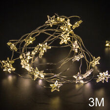 50LED Star String Lights 5M Fairy Lights Party Decoration Light Battery Operated