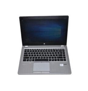 "HP EliteBook Folio 9470m 14""  Laptop Intel i5-3337U CPU 4G RAM 180G SSD Win10"