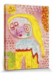 Paul Klee - Magdalena 1938 Poster Leinwand-Druck (40x30cm) #111851